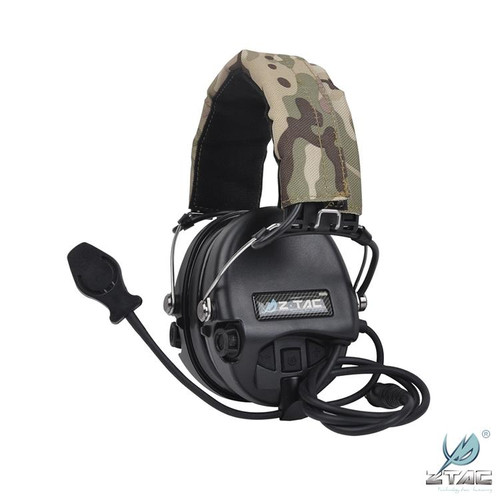 Z Tac Comtac Headset with Down Lead for Kenwood/Beofang