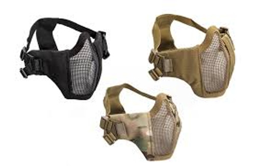 ASG Lower Metal Mesh Mask with Cheek Pads