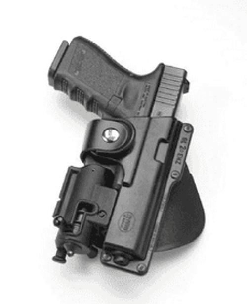 Fobus Light/Laser Bearing Holster EM17 Glock 17/18/22