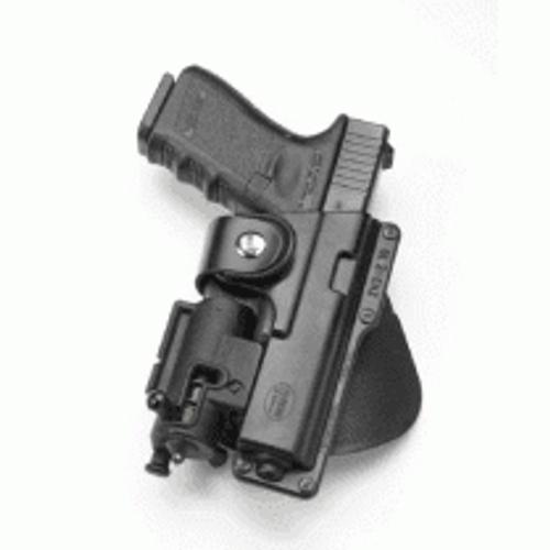 Fobus Glock 19 Light/Laser Bearing Holster EM19