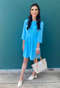 Oxford Dress- Bluebelle