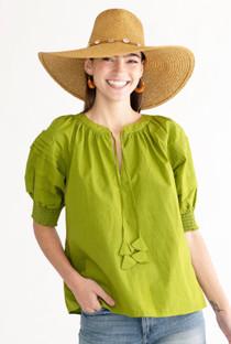 Faith Top- Leaf Green