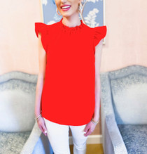 Penelope Top- Red
