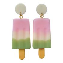 Large Popsicle Earrings- Sherbert