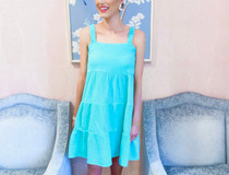 Chanel Multi Tier Mini Dress- Caribbean