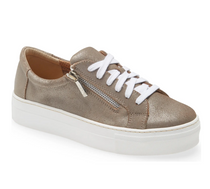 Grande Sneaker- Taupe San Remo