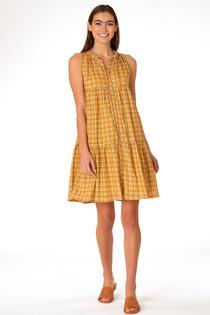 Ro Short Dress- Plaid