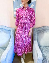 Maxima Dress- Petra Purple