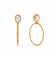 Verona Statement Earring- Pearl