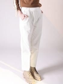 Dakota Corduroy Trousers- White