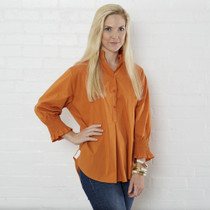Kimberly Top- Pumpkin