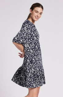 Tinsley Dress- Abstract Floral