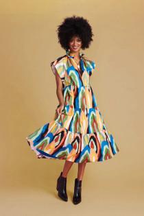 Watts Dress- Geode