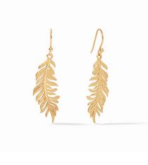 Fern Earring- Gold