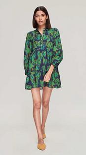 Romy Short Dress- Tulip Navy