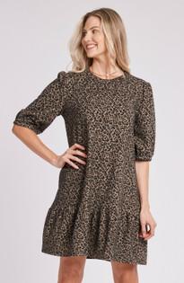 Tinsley Dress- Modern Cheetah
