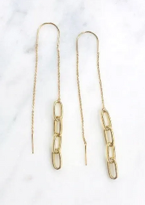 Link Threader Earrings
