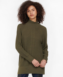 Featherhall Knit Sweater- Military