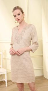 Meghan Dress- Golden