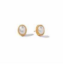 Verona Stud Earring- Pearl
