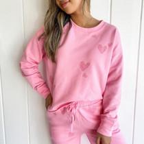 Eternity Pullover- Wild Pink