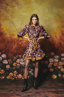 Alder Dress- Fall Floral