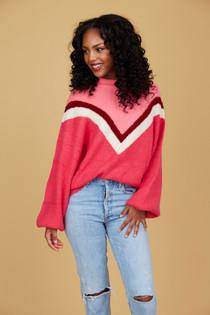Miller Sweater- Berry Fun