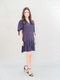 Blythe Dress- Purple Paw Print