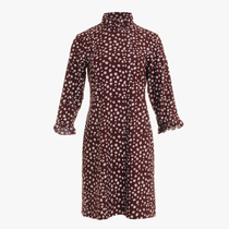 Ariella Dress- Painted Spot Merlot