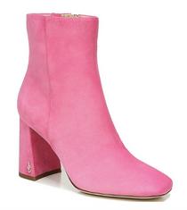 Codie Suede Bootie- Pink Confetti