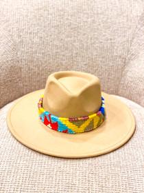 Camel Sundance Kilim Band Hat- Multiple