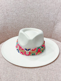 Pearl Sundance Kilim Band Hat- Multiple