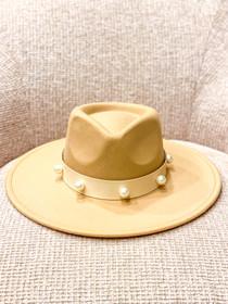 Camel Sundance Hat- Pearl