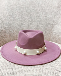 Mauve Sundance Hat- Pearl