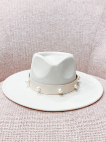 Pearl Sundance Hat- Pearl