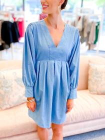 Katie Chambray Dress