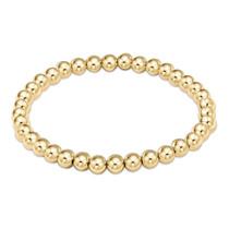 Classic Gold 5mm Bead Bracelet