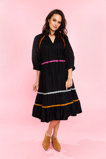 Talulah Dress- Black