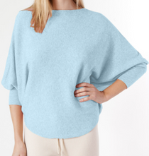 RYU Sweater- Light Blue