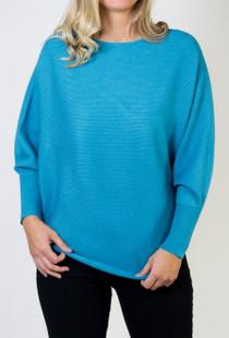 RYU Sweater- Turquoise