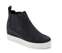 Wynd Sneaker- Anthracite Suede
