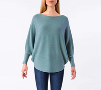 RYU Sweater- Ocean Teal