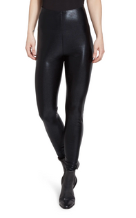 Foil High Waist Legging- Black