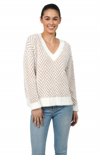 Kenya V-Neck Sweater