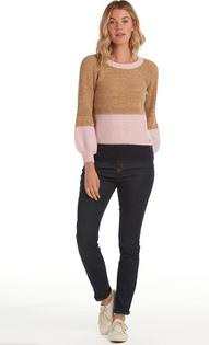 Murrelet Knit Sweater- Ochre