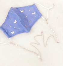 Star Mask Chain- Silver