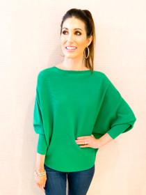 RYU Sweater- Kelly Green