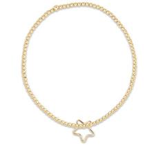 Classic Gold 2MM Bracelet- Star Charm