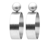Mini Elizzie Earrings- Silver