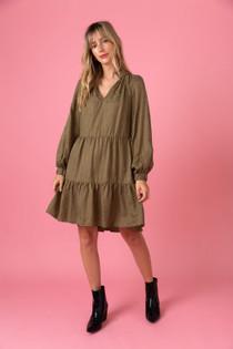 Belle Dress- Leopard Luxe